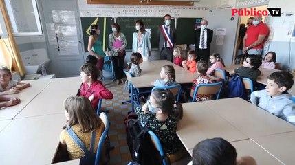 Los alumnos vacunados no serán aislados en Francia si son contacto estrecho