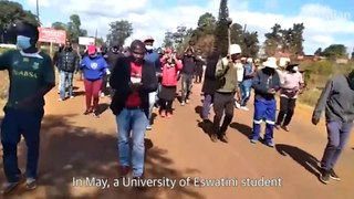The last king of Eswatini? Reporting on protests in Africa's last absolute monarchy