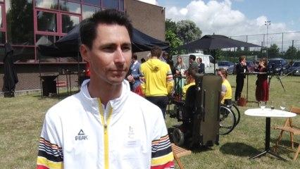 Un objectif de dix médailles pour la délégation paralympique belge