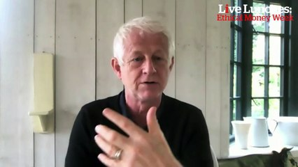 Film maker Richard Curtis says 'our pensions are the most powerful tools we have to fight climate change'