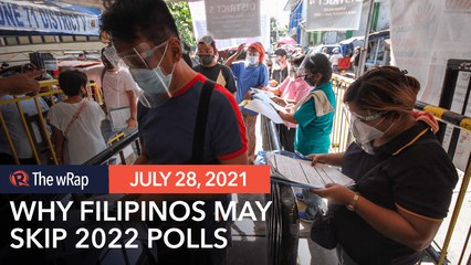 46% of Filipinos to skip 2022 polls if COVID-19 cases are high – survey