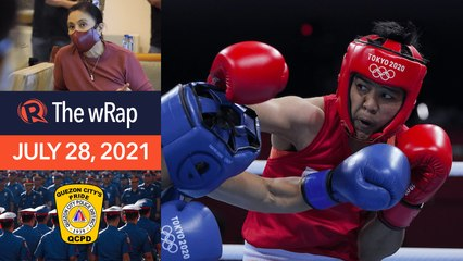 Assured of bronze, Petecio 1st Filipina boxer to win Olympic medal | Evening wRap