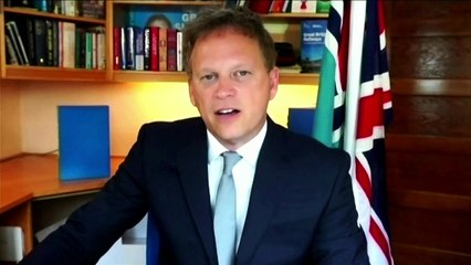 Grant Shapps set out plans aimed at 'allowing people to come here if they are double vaccinated' from EU and US