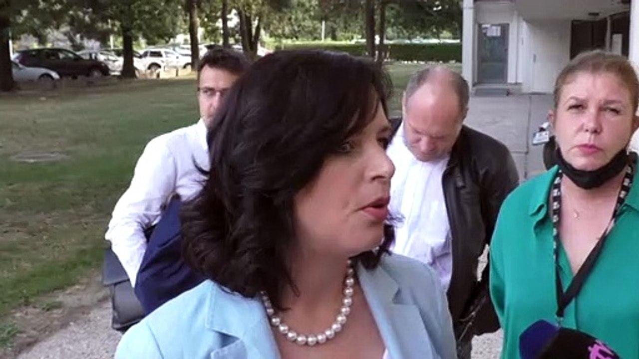 ZÁZNAM: V. Remišová pred zasadnutím predsedníctva strany Za ľudí - 2