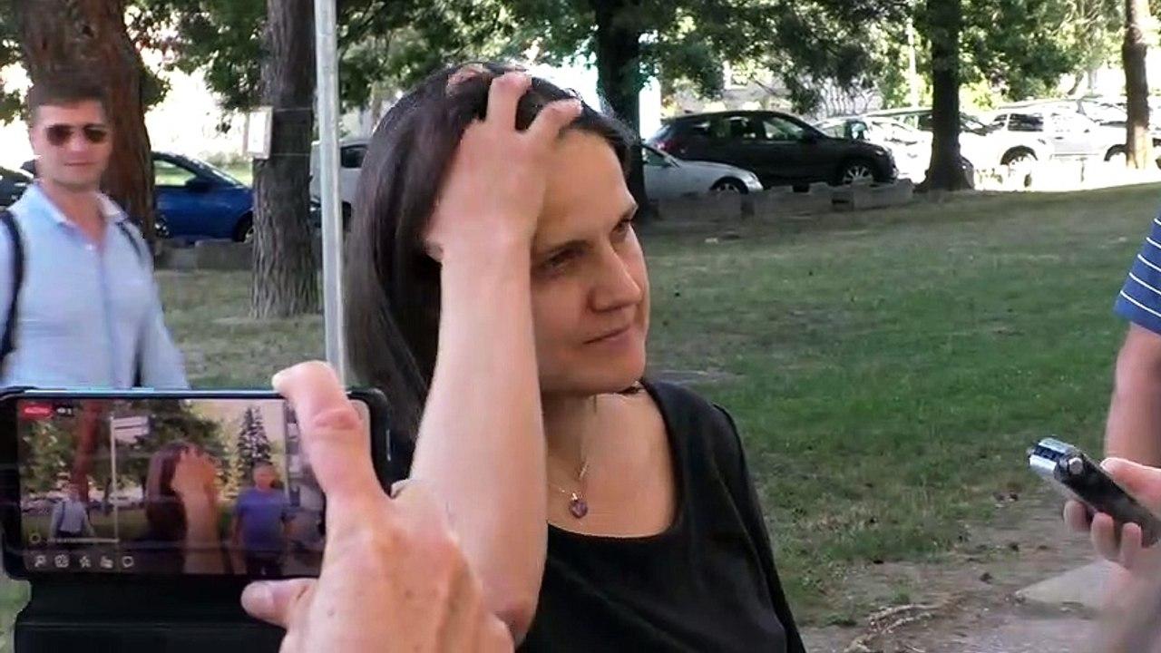 ZÁZNAM: M. Kolíková pred zasadnutím predsedníctva strany Za ľudí