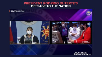 President Duterte's recorded message to the nation | Wednesday, July 28