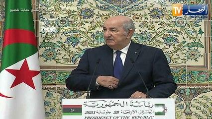 رئيس الجمهورية يستقبل رئيس المجلس الرئاسي الليبي