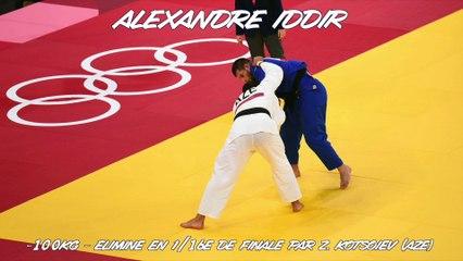 Jeux olympiques Tokyo 2021 - Alexandre Iddir : « Le profil qui annihile mon judo »