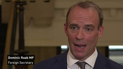 Dominic Raab: UK is 'leading the way' on climate action