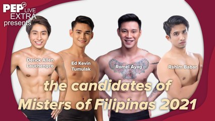 Misters of Filipinas 2021 Candidates on PEP Live Extra