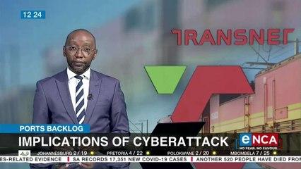 Implications of cyberattacks on Transnet