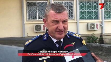 """Colonel Philippe Haristoy : """"j'ai confiance en la Côte d'Ivoire face au terrorisme"""""""
