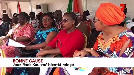 Bonne cause : Jean Rock Kouamé relogé