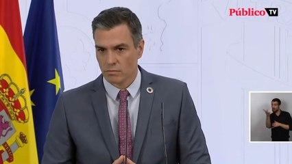 """Sánchez, sobre la conferencia de presidentes: """"Cada cual tendrá que optar o por la recuperación o por la crispación"""""""