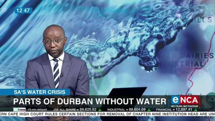 Parts of Durban without water
