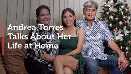 Andrea Torres Talks About Her Life at Home