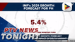 IMF keeps 5.4% PH growth forecast for 2021, monitors impact of delta variant