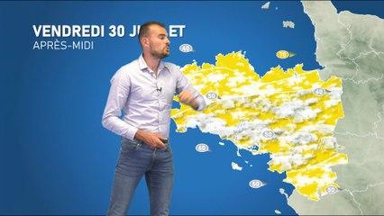 Illustration de l'actualité La météo de votre vendredi 30 juillet 2021