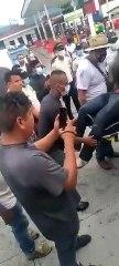 Accidente durante bloqueo en El Progreso