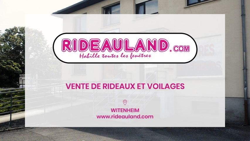 Rideauland, vente de rideaux et voilages sur mesure à Wittenheim.