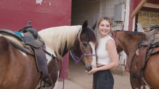24 Hours With Madelyn Cline, From the Stables to the Hollywood Sign