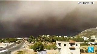 Turquie : trois morts dans des feux de forêt dans le sud du pays