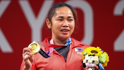 Stranded During Covid, Olympic Gold Weightlifter Trained Using Water Jugs