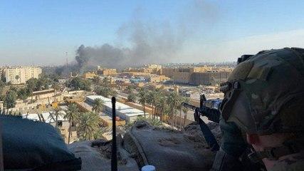 Disparan dos cohetes cerca de la embajada de EEUU en Bagdad | El Diario en 90 segundos