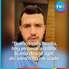 Edén Muñoz estrena voz tras operación de cuerdas vocales