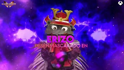 Joaquín Cortés, bajo el disfraz de Erizo, gana la final de 'Mask Singer'