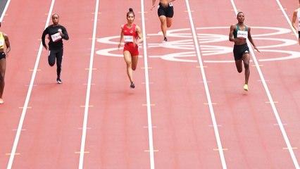 Langkah Sprinter Putri Alvin Tehupeiory Harus Terhenti di Babak Pertama