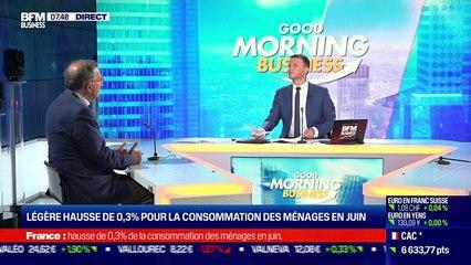 Christian de Boissieu (Cercle des économistes) : Le PIB rebondit de 0,9% au deuxième trimestre - 30/07
