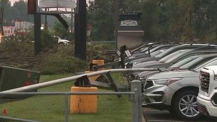 Autohaus in Trümmern: Zwei Tornados hinterlassen in Pennsylvania Spur der Verwüstung