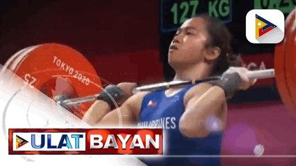 Hidilyn Diaz, nagsisilbing inspirasyon sa iba pang Pilipinong atleta na lumalaban ngayon sa Tokyo Olympics