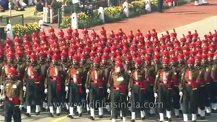 Marching pride of the Indian heartland_ Jat Regiment!