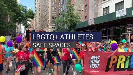 LBGTQ+ Athletes Safe Spaces