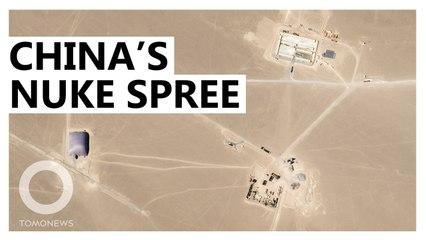 壯大核武 中國再建110座飛彈發射井