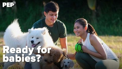 Sarah Geronimo, Matteo Guidicelli HAPPILY married