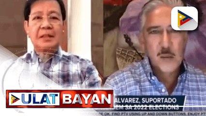 Dating House Speaker Alvarez, suportado ang Lacson-Sotto tandem sa 2022 elections; Rep. Cayetano, nananatili ang suporta kay Pres. Duterte