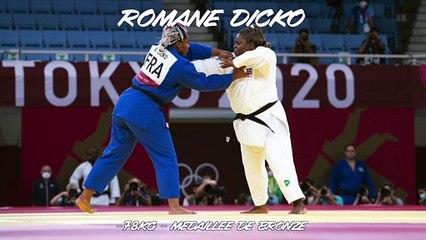 Jeux olympiques Tokyo 2021 – Romane Dicko : « Je suis allée la chercher »