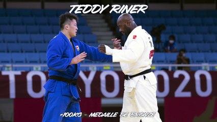 Jeux olympiques Tokyo 2021 - Teddy Riner : « La médaille du courage et de la fierté »