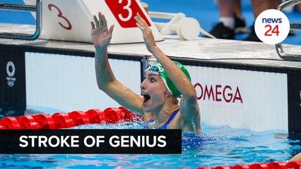 WATCH | Stroke of genius: Tatjana Schoenmaker's bags gold at the Tokyo Olympics