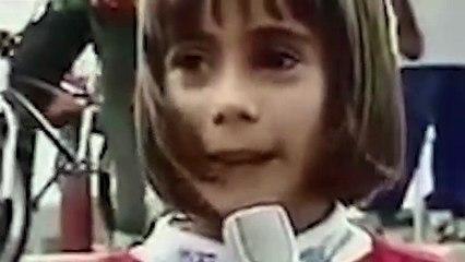 Mariana, desde los cinco años, no se ha bajado de una bicicleta