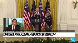 Etats-Unis : Un premier groupe d'Afghans ayant travaillé pour les Américains arrive en Virginie