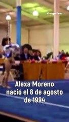 Alexa Moreno es la gimnasta más exitosa de México.