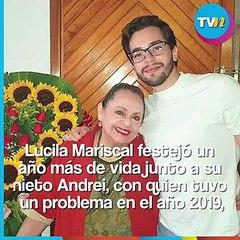 Lucila Mariscal festejó un año más de vida