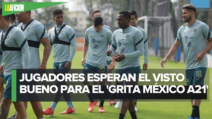"""América prepara a jugadores para su debut en el """"Grita México A21"""""""