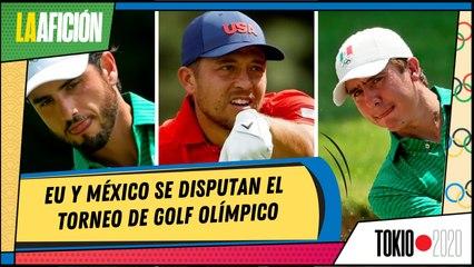 Estadounidense 'le roba' a Carlos Ortiz liderato en golf de Tokio 2020