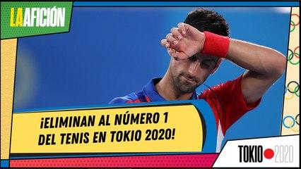 Novak Djokovic queda fuera de la final de tenis en Juegos Olímpicos