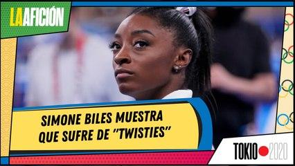 """Simone Biles se defiende de críticas y muestra pruebas de """"twisties"""""""